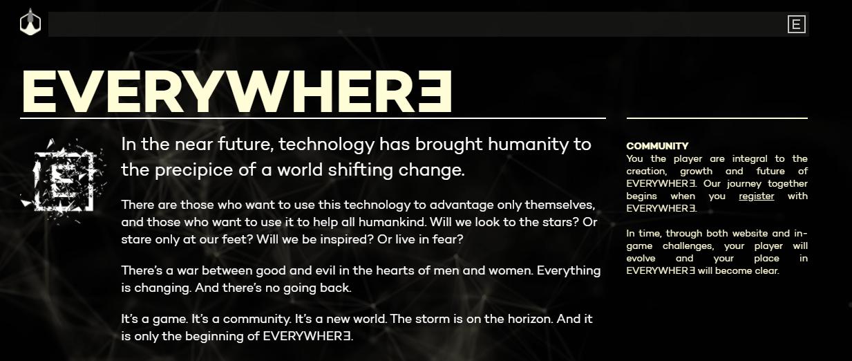 Imágen de la página oficial de Everywhere